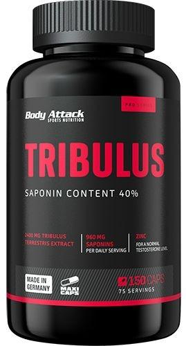 Body Attack Tribulus Terrestris 2400 - 150 Kapseln