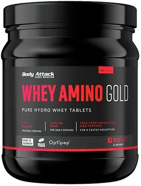 Body Attack Whey Amino Gold - 325 Tabs