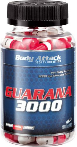 Body Attack Guarana 3000 - 90 Kapseln