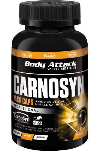 Body Attack Carnosyn Kapseln - 120 Maxi Caps