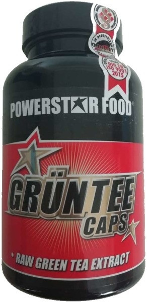 Powerstar Grüntee Caps - 100 Kapseln