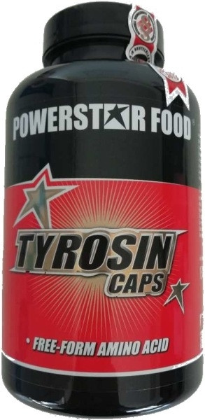Powerstar L-Tyrosin - 240 Kapseln á 500mg