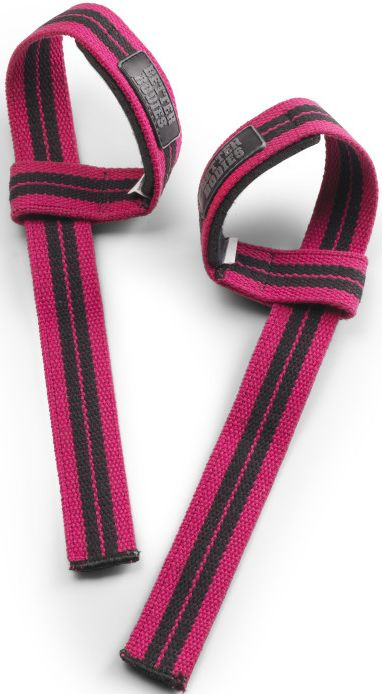Better Bodies Womens lifting straps - hot pink