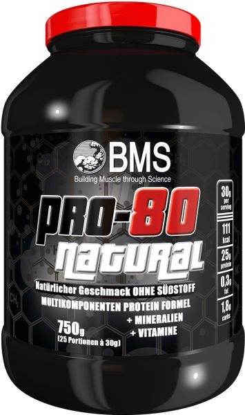 BMS Pro-80 Natural - 750g Dose