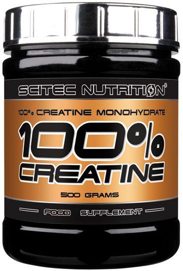 Scitec Nutrition 100% Creatin Monohydrat - 500g Dose