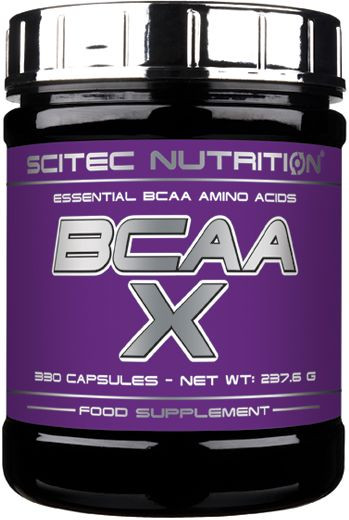 Scitec Nutrition BCAA-X - 330 Kapseln á 700mg