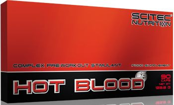 Scitec Nutrition Hot Blood 3.0 - 90 Caps