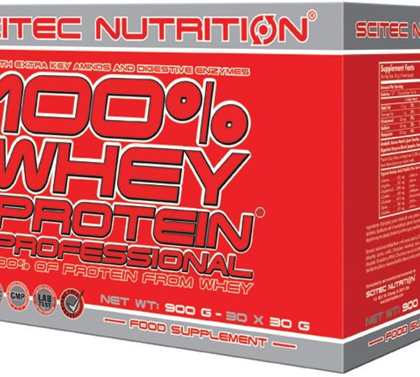 Scitec 100% Whey Protein Prof. - Variety Pack - 30 Portionen