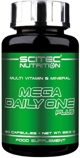 Scitec Nutrition Mega Daily One Plus - 60 Kapseln