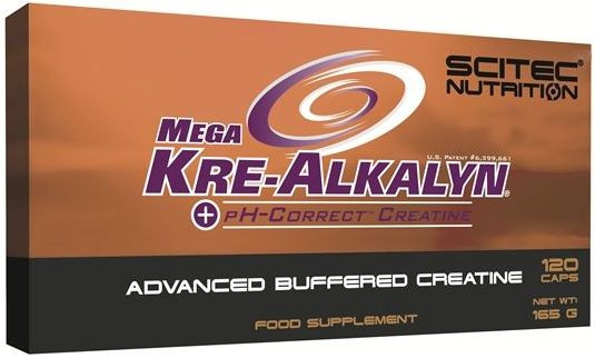 Scitec Nutrition Mega Kre-Alkalyn - 120 Caps á 1200mg