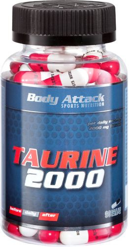 Body Attack Taurine 2000 - 90 Kapseln