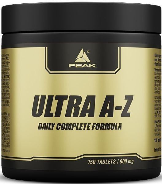 Peak ULTRA A-Z - 150 Tabletten á 900mg
