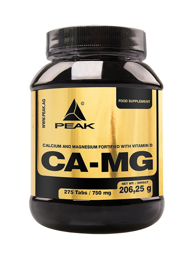 Peak Magnesium + Calcium - 275 Tab. á 750mg