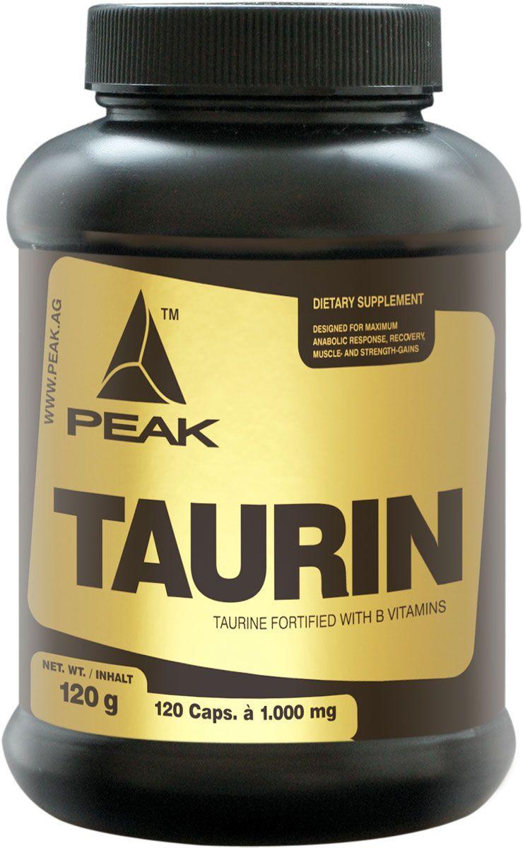 Peak L-Taurin - 120 Kapseln