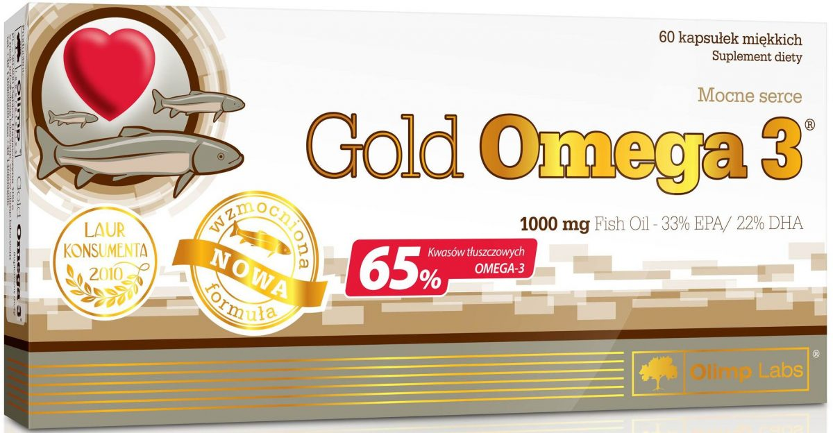 Olimp Gold Omega-3 - 60 Kapseln