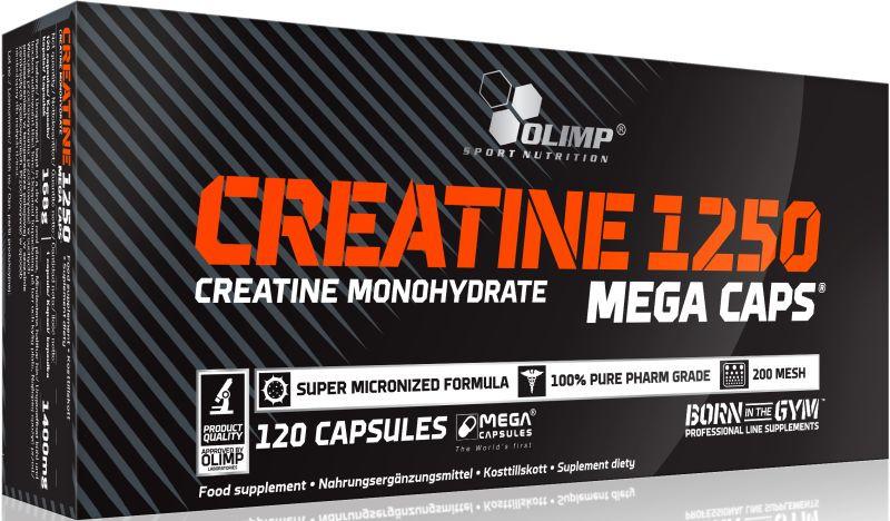 Olimp Creatine 1250 Mega Caps - 120 Kapseln