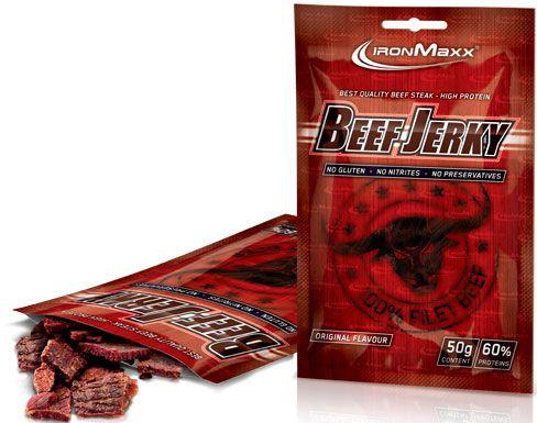 Ironmaxx Beef Jerky - 50g