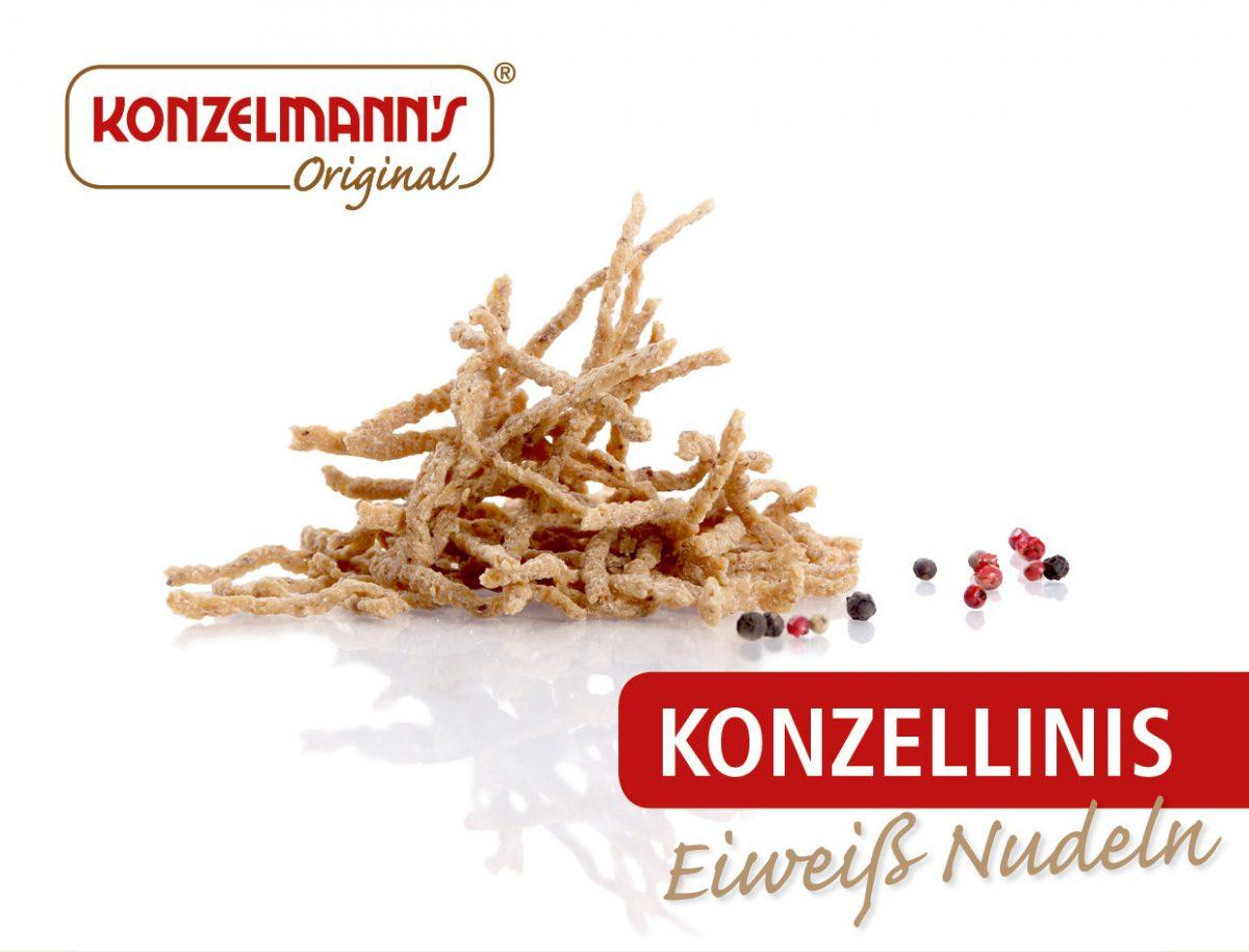 Konzellinis Low Carb Eiweiß Nudeln - 600g