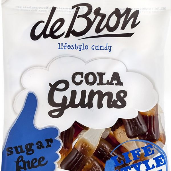 De Bron Low Carb Cola Gums - 100g Beutel