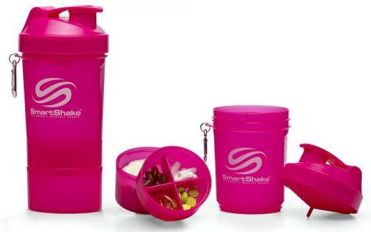 Smartshake Neon Pink - 3 in 1 Shaker