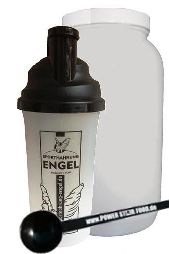 Engels 3er-Set (Leerdose+Shaker+Messlöffel)