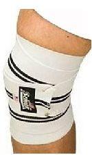 Schiek Sports Kniebandagen Model 1178 weiß - ohne Klettverschluss