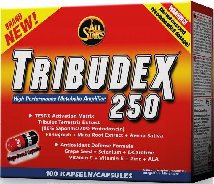 All Stars TRIBUDEX 250 - 100 Kapseln