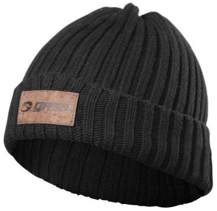 GASP Heavy knitted Hat - schwarz