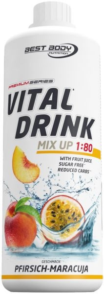 Best Body Nutrition Low Carb Vital Drink 1 Liter