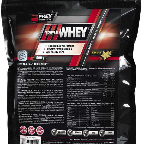 FREY NUTRITION Triple Whey - 500g