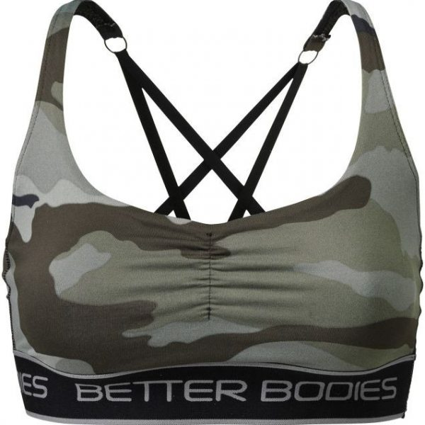 Better Bodies Athlete Short Top - Camoprint