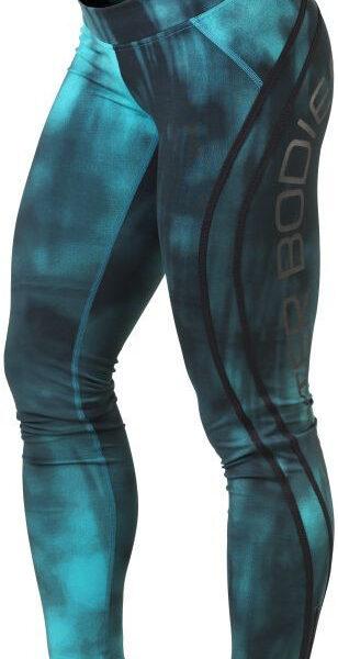 Better Bodies Grunge Tights - Aqua Blue