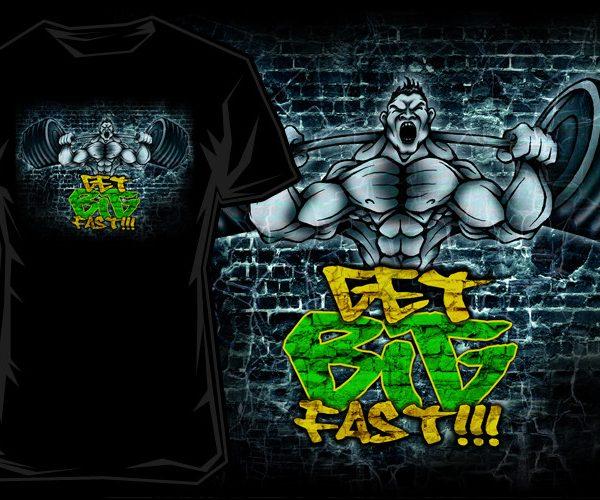 Scitec Nutrition T-Shirt - Get big fast