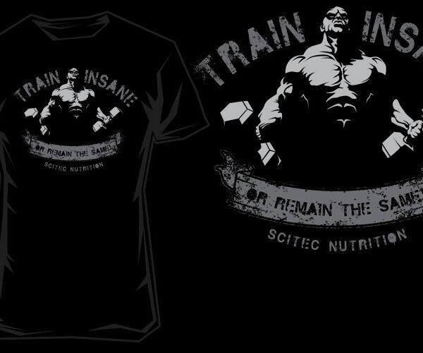 Scitec Nutrition T-Shirt - Train Insane