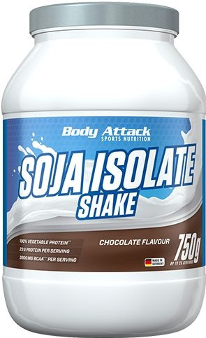 Body Attack Soja Isolate Shake - 750g