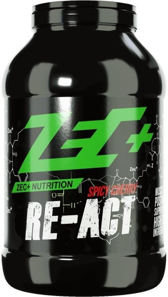 ZEC+ Post Workout Shake RE-ACT 1800g Dose