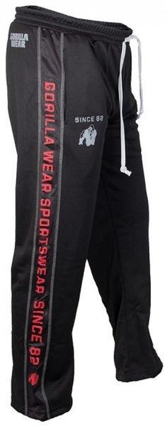 Gorilla Wear Functional Mesh Pants - black/red