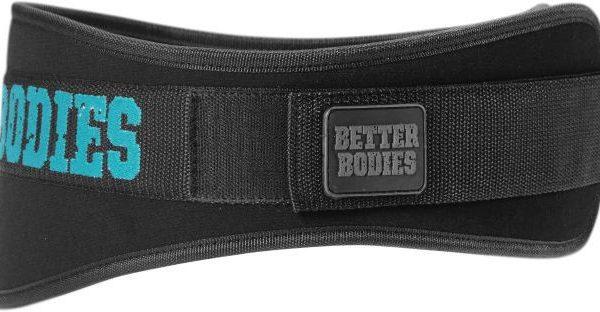 Better Bodies Womens Gym Belt - schwarz / blau
