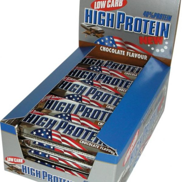 Weider 40% Protein Low Carb Bar - 24 Riegel á 50g