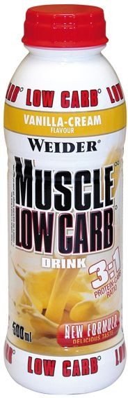 Weider Muscle Protein Low Carb Drink - 500ml