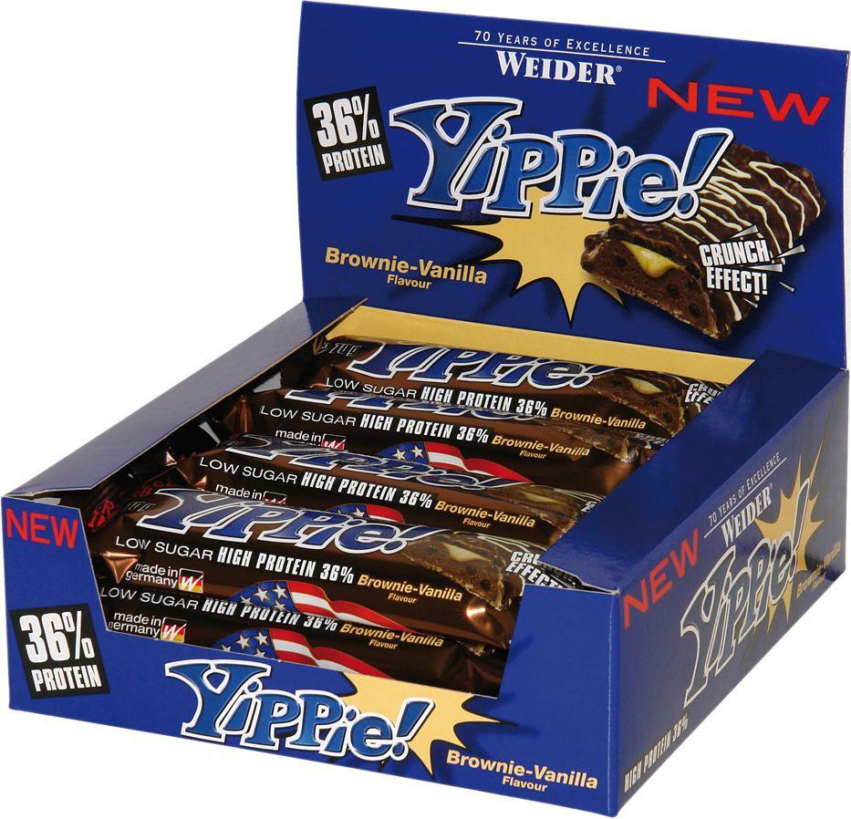 Weider Yippie! Protein Bar - 12x 70g