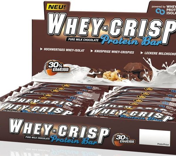 All Stars Whey Crisp Bar - 24 Riegel á 50g