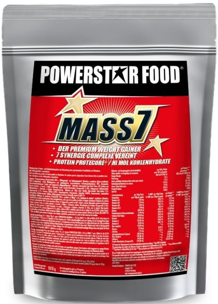 Powerstar Mass 7 - 1610g Beutel