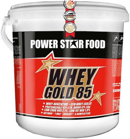 Powerstar Whey Gold 85 - 5kg Eimer