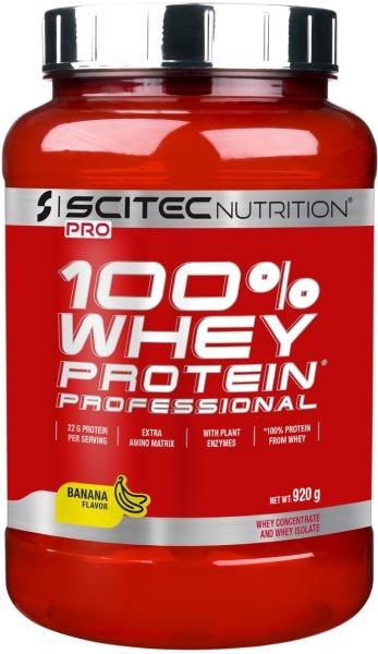 Scitec Nutrition 100% Whey Prof. - 920g