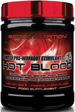 Scitec Nutrition Hot Blood 3.0 - 300g
