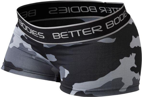 Better Bodies Fitness Hotpant - grey camoprint