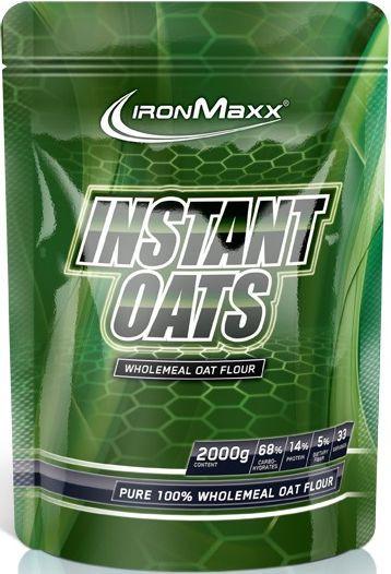 Ironmaxx Instant Oats Haferflocken - 2000g