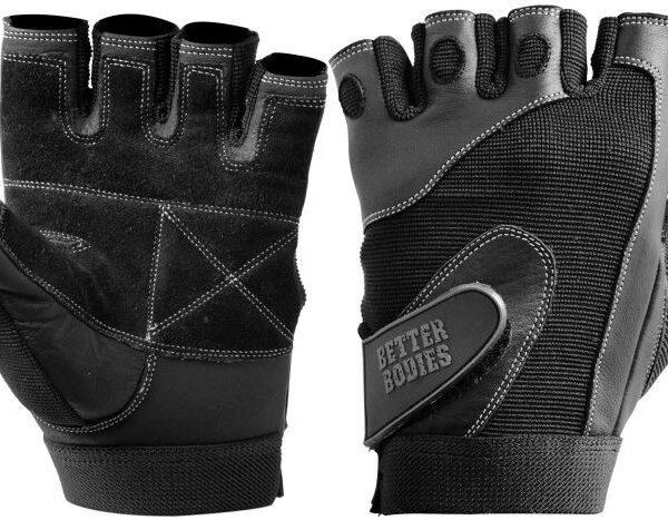 Better Bodies Pro Lifting Gloves Schwarz