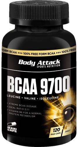Body Attack BCAA 9700 - 120 Kapseln